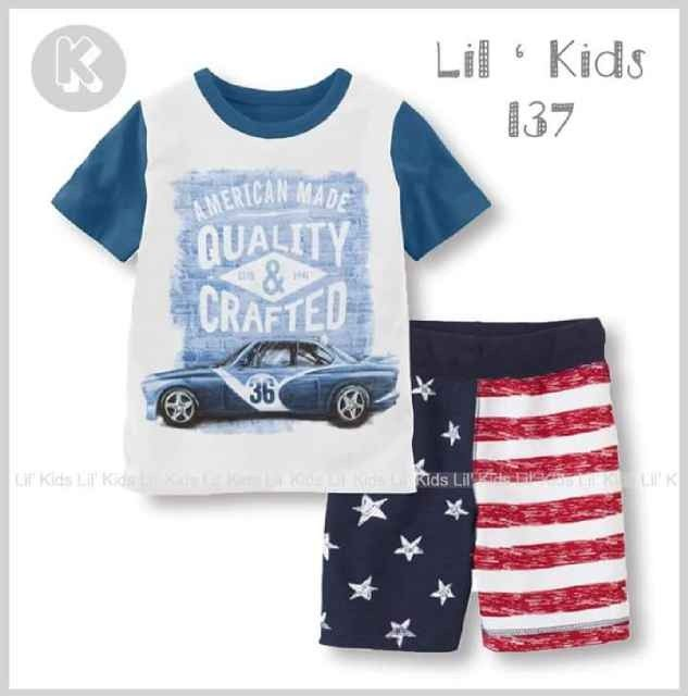 BC198 Setelan Anak Quality And Crafted LK137K Size 1th 2th 4th 5th 6th Rp 75.000 (ready)