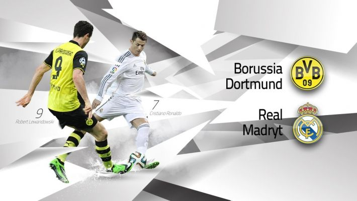 LM (1/4): Borussia Dortmund vs Real Madryt