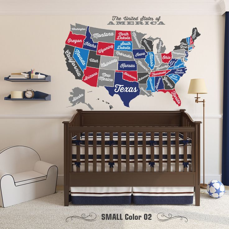 Best Usa States Names Ideas On Pinterest Usa Maps United - Us map wall decal