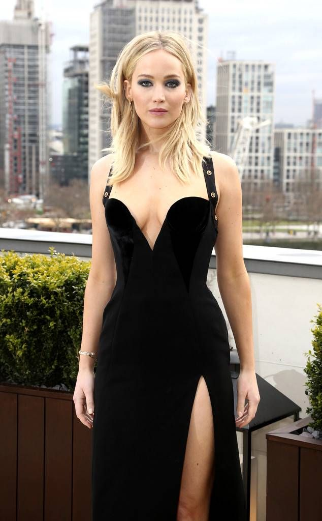Jennifer Lawrence from The Big Picture: Today's Hot Photos  Bold in black! The Red Sparrow starlet looks stunning in London.