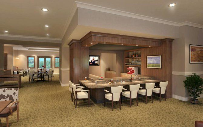 assisted living communities   When complete in October, Casey's Pond Senior Living community will ...
