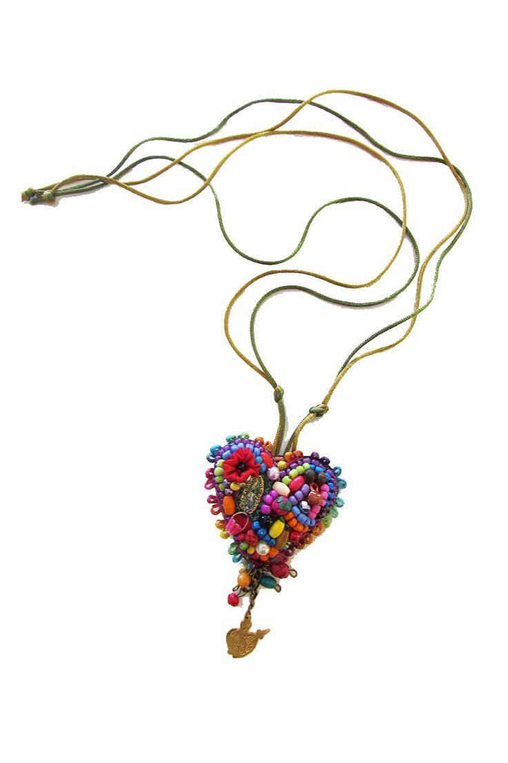 $93.00 Corazon Escapulario Necklace