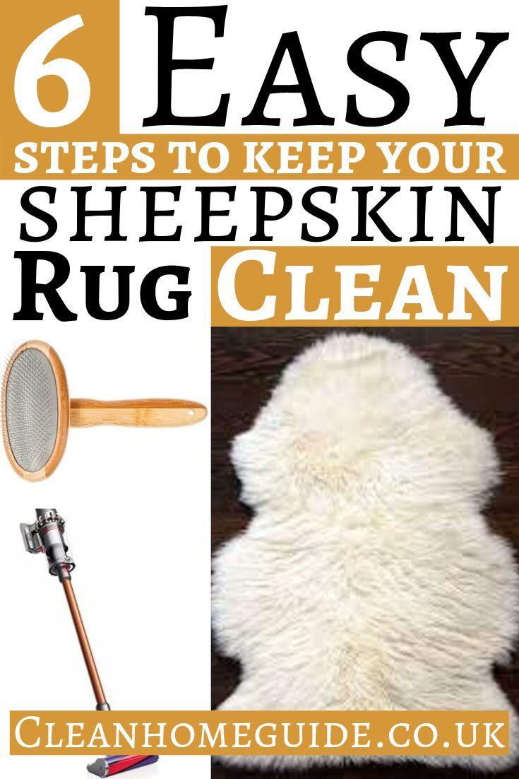 How to Clean a Sheepskin Rug [5 Simple Tips] Sheepskin