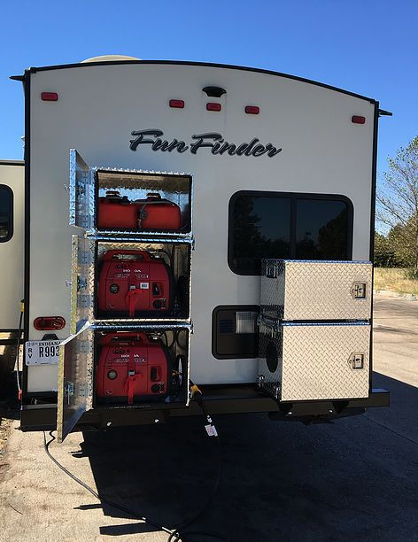 Generator Boxes for Travel Trailers - Generator Boxes EU2000 - Generator Boxes for Travel Trail