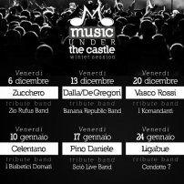 Addio 2013, Benvenuto 2014. Music Under The CastleConversano (BA) 31 dic 2013 / 01 gen 2014