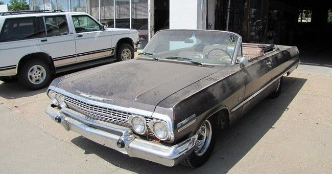 '63 Impala convertible...