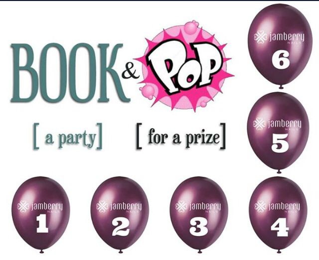 Who wants to host an online/catalog or in-home Jamberry party? I need 3 or more people to take me up on this offer, you do nothing...I do everything & in the process, you can earn all types of luxurious Jamberry products! Inbox me & let's get this party started. Pop a balloon (choose a number) win a prize if you host a party!