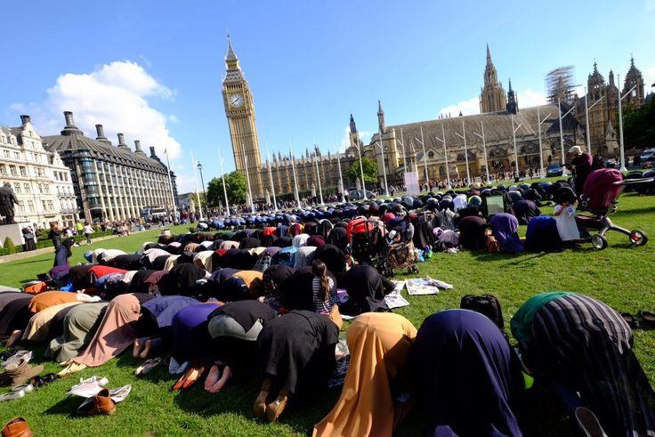 Imam Who Led Parliament Square Prayer Defended Al Qaeda Terrorist And Railed Against Jews - Breitbart