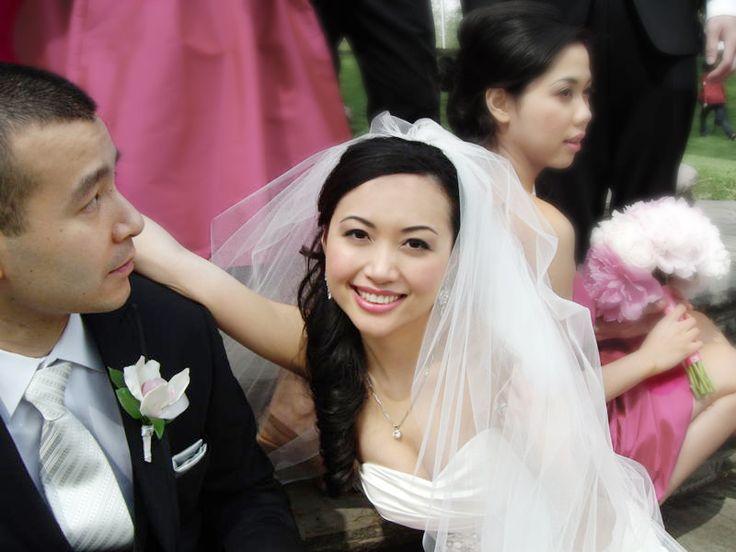 Korean bridal hair and makeup in toronto