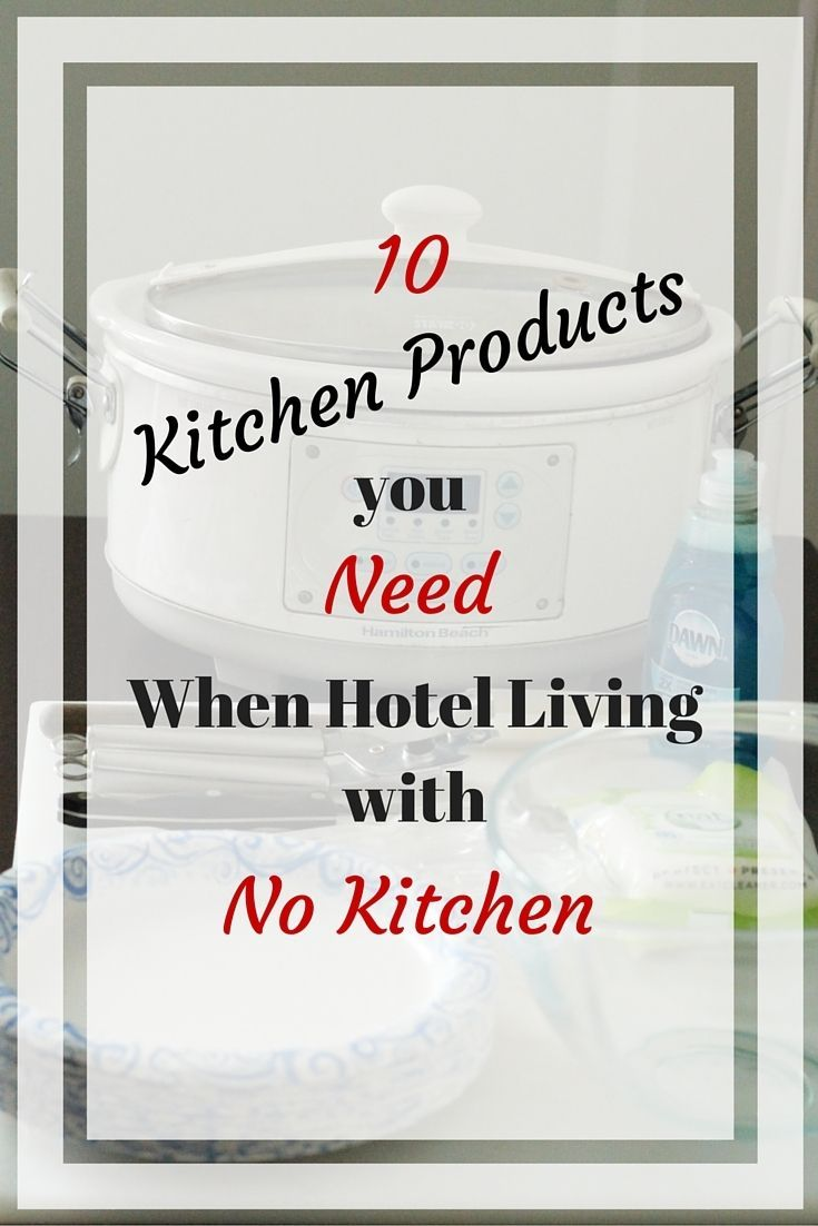 Living in a hotel for an extended stay or want to prep your own food while traveling? Here are my top 10 kitchen products to take on the road. http://www.realthekitchenandbeyond.com/10-products-you-need-when-hotel-living-with-no-kitchen/