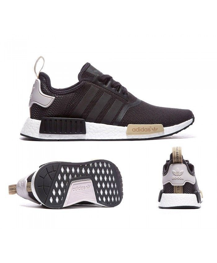 025bb4d9e Adidas Originals NMD R1 In Utility Noir de La Glace Bordeaux Girls running  special leisure style