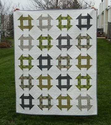 churn dash quilt {finished}