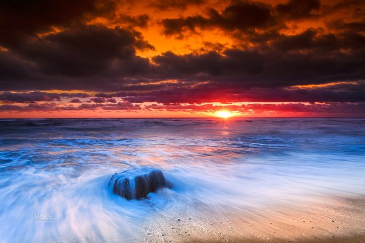 Coast Guard beach, Cape Cod National Seashore. © Dapixara. A pretty sunrise Today before the snow begins to fall again. https://dapixara.com