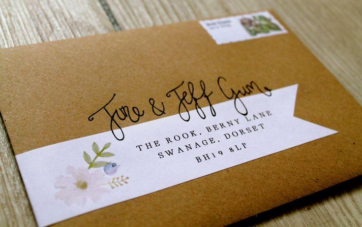 1000 ideas about handwritten wedding invitations on With handwritten calligraphy wedding invitations uk