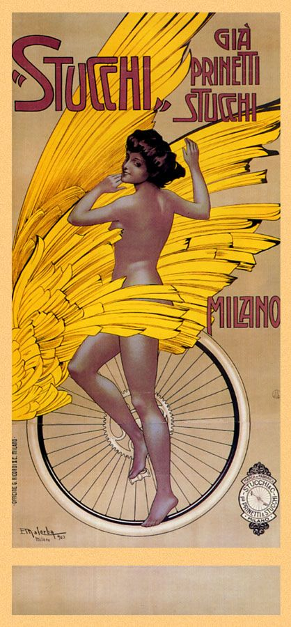 Emilio Malerba, Stucchi Milano bycicles                                                                                                                                                                                 More