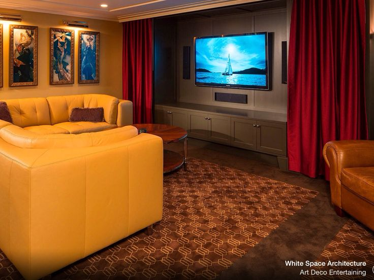 Theater Room Idea