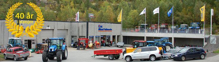 Hillestad /// Backhoe Service Ltd - New Holland - Case - Used Tractors - New tractors - Hafslovatnet - Luster - Sogn & Fjordane