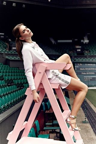 Wimbledon Photo shoot