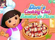 Dora recetas de pizzas | juegos de cocina - jugar online