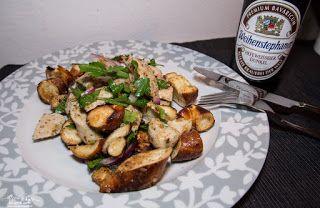 [Rezepte] Weißwurstsalat - bayrisches Frühstück   Do gehts auffi!