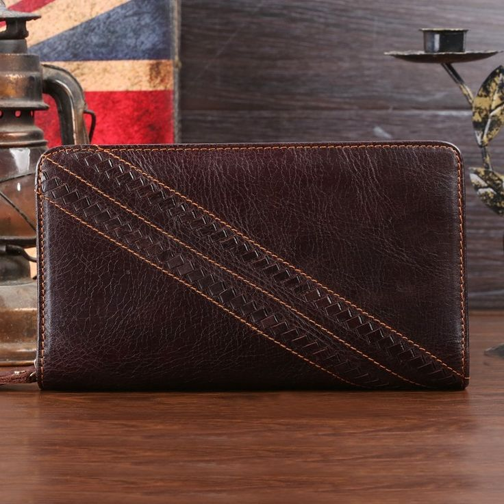 59.30$  Watch here - http://aliqtk.worldwells.pw/go.php?t=1788177783 - 8020C 2014 New Classic Coffee Vintage Real Leather Men Clutch Wallet Purse Key Case Men's Hand bag 59.30$
