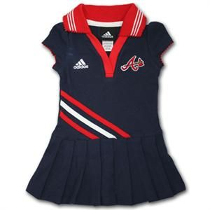 Atlanta Braves Infant Dress