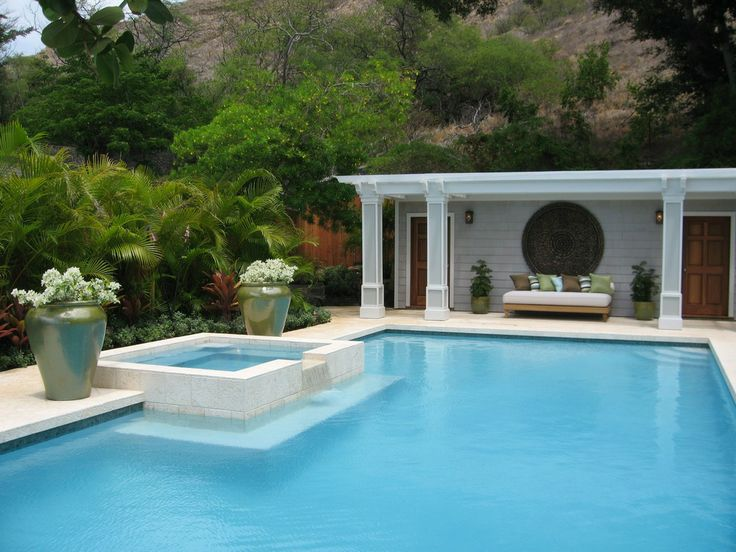 Great Gatsby Swimming Pool Fence Contemporary Tropical