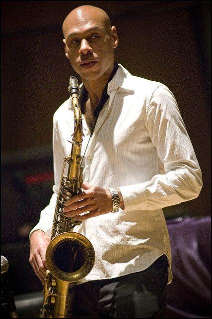 Joshua Redman by Garry Corbett (b. 02/01/1969) he is an American jazz saxophonist & composer.