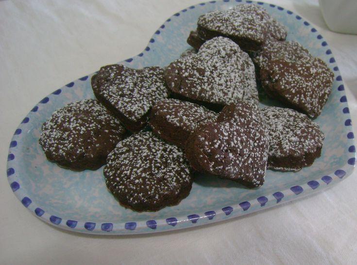 Biscotti dietetici cacao e arancia | Imprastando