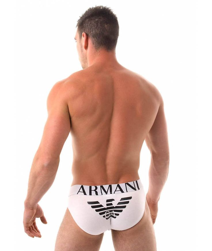 Emporio Armani Mens Eagle Stretch Hip Brief | Emporio Armani Mens Hip briefs at banglads.com