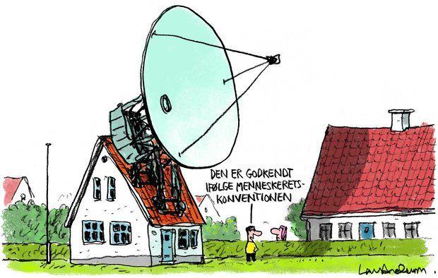 Må du frit sætte en parabol op på dit hus?