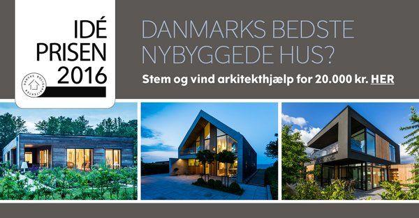Stem på Danmarks bedste nybyggede villa