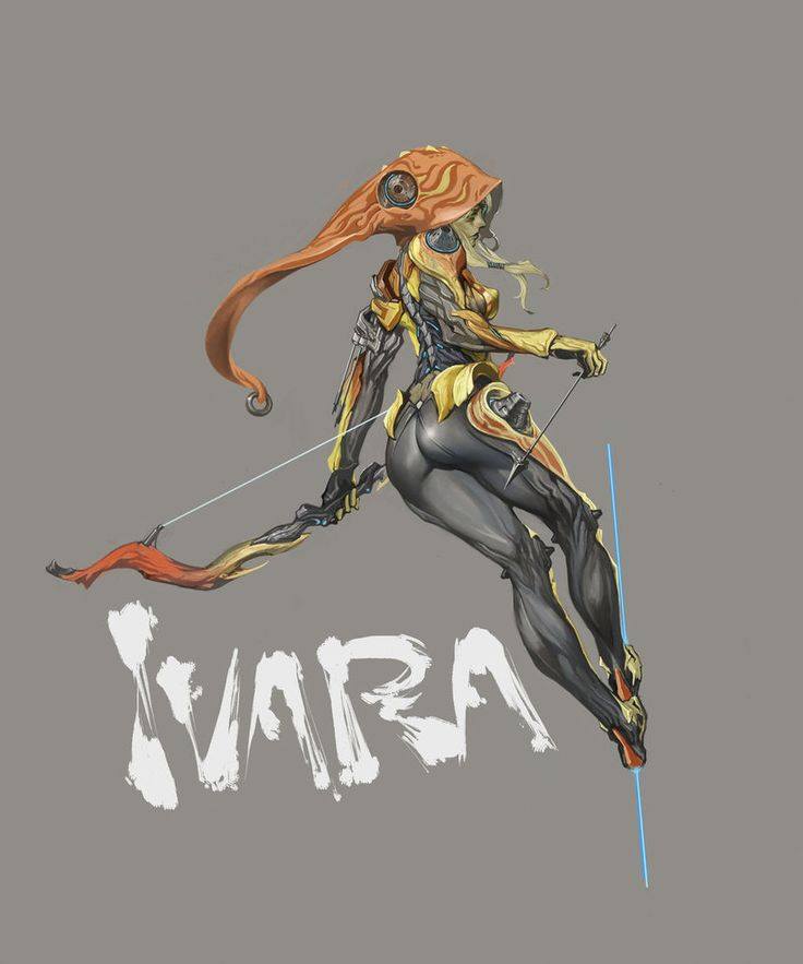 warframe ivara by masateru on DeviantArt
