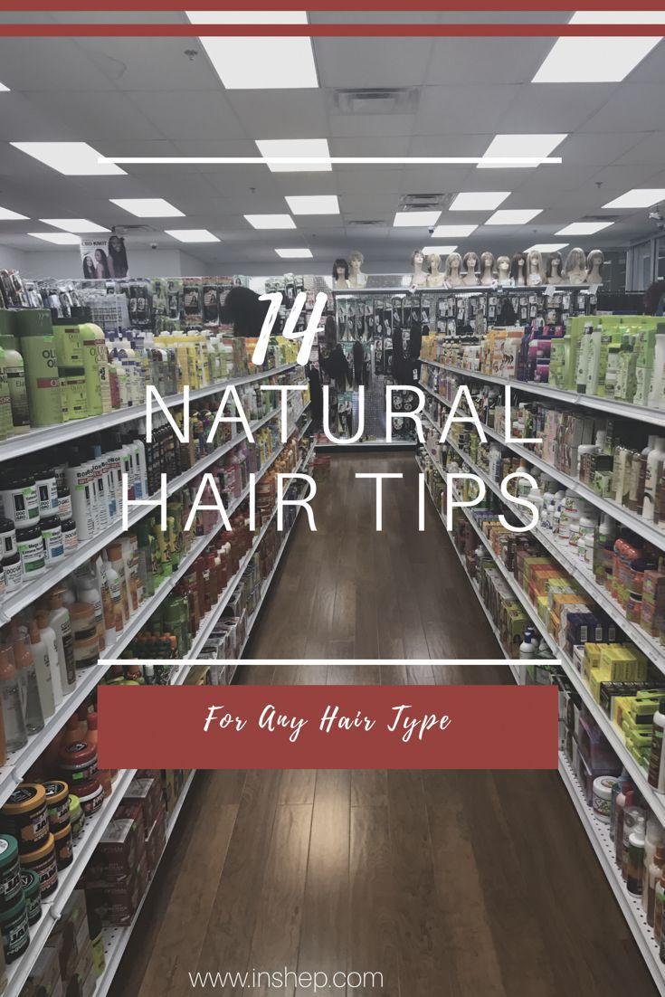 14 Natural Hair Tips for Any Hair Type #natural #naturalhair