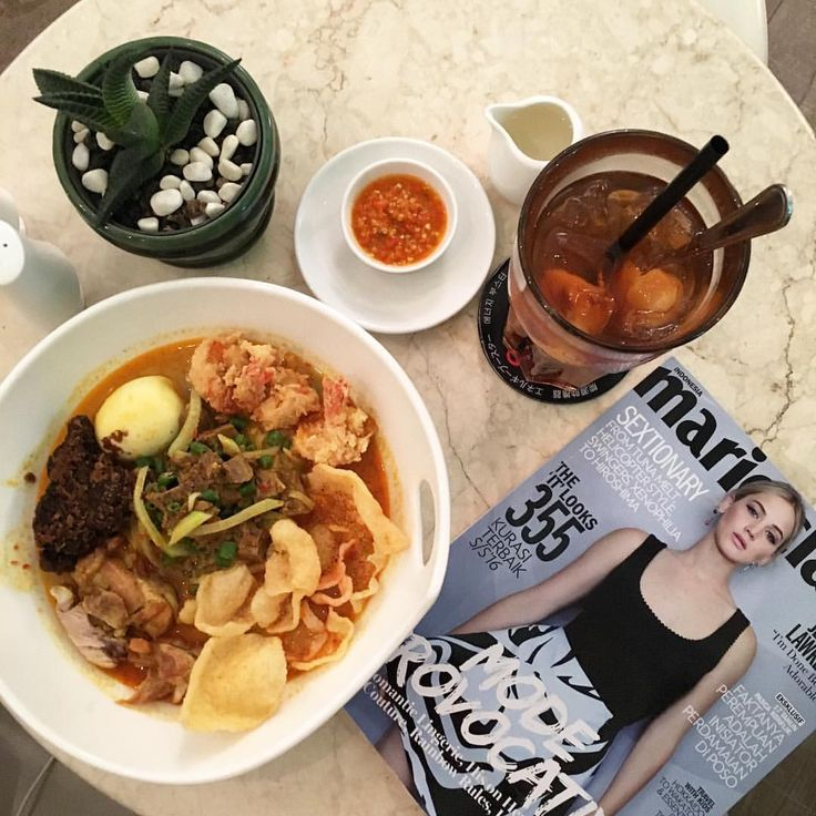 My addictions to Life • My kind of lunch today  this Lontong Cap Gomeh so...