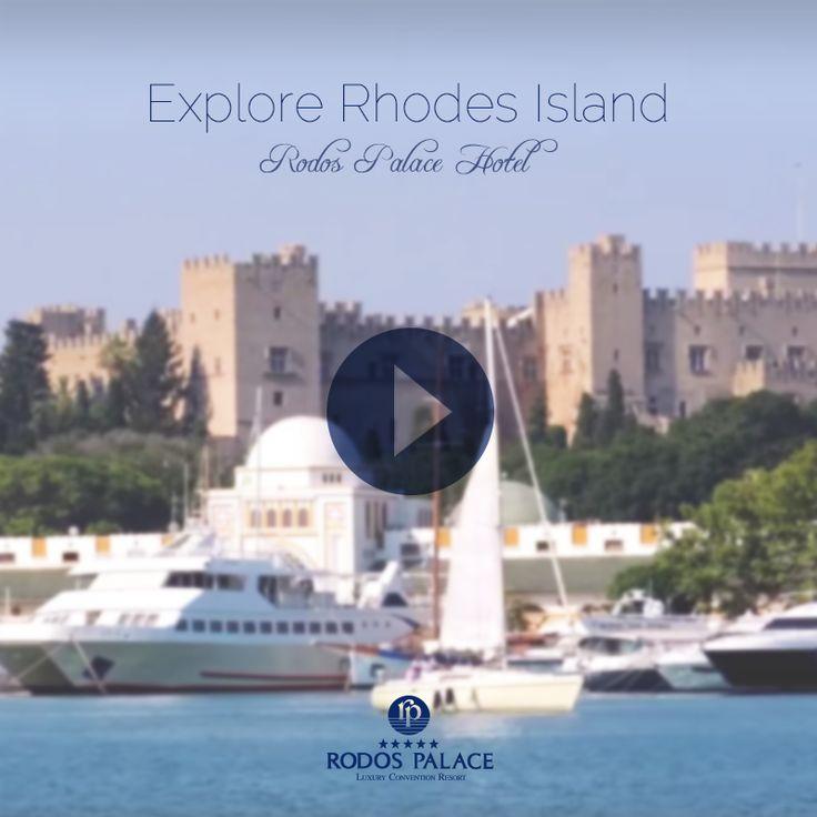 Explore our magical island.. https://www.youtube.com/watch?v=l7a1aIm-Ov0 #rodospalace #hotel #rhodes #island #magical