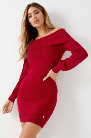 c079bfa2cc4 Black Lipsy Bardot Tunic Dress   Clothes   Dresses, Lipsy, Tunic