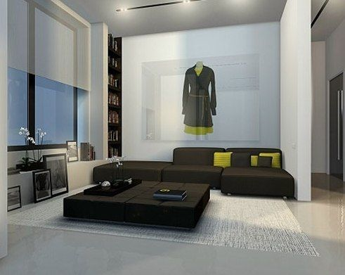 Images About Yoga Room On Pinterest Grey Curtains Modern Apartments