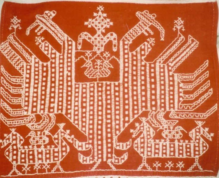 Detail of a Karelian ritual cloth