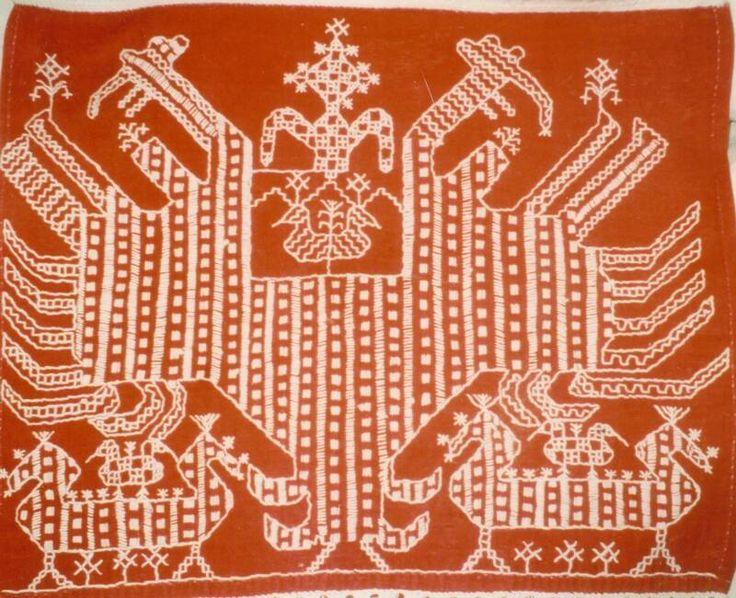 Detail of a Karelian ritual cloth