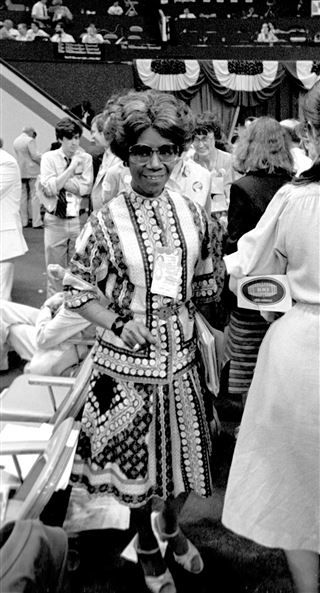 Before former President Barack Obama, Hillary Clinton and the Rev. Jesse Jackson made U.S. history with their presidential campaigns, there was Shirley Chisholm.