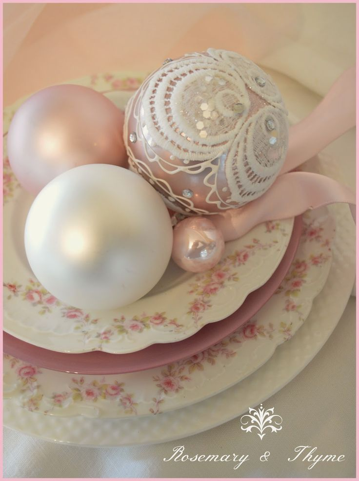 Rosemary and Thyme: A Little Pink Christmas Inspiration