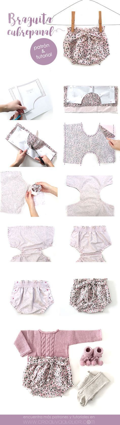Cute little shorts for a baby girl