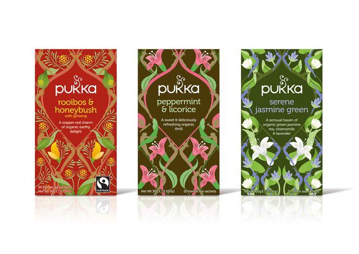 Pukka Herbs — The Dieline