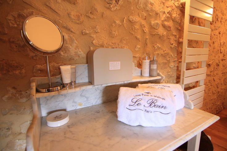 Bathroom Chambre Noix, detail