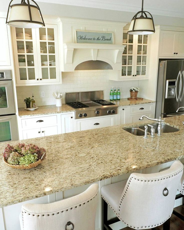 Simple White Kitchen Cabinets: Pin By Tracy Martin On Easy Recipes In 2019