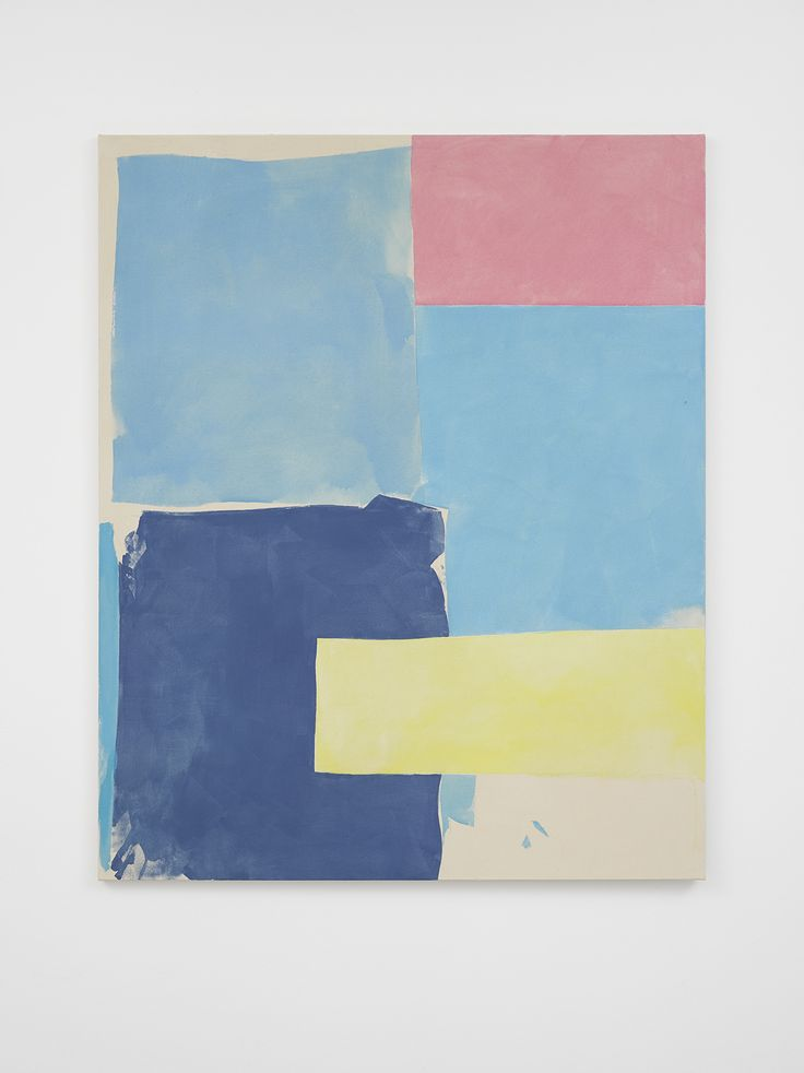 Light Blues, Pink, Yellow and Ultramarine, 2016 | Peter Joseph | Artists | Lisson Gallery