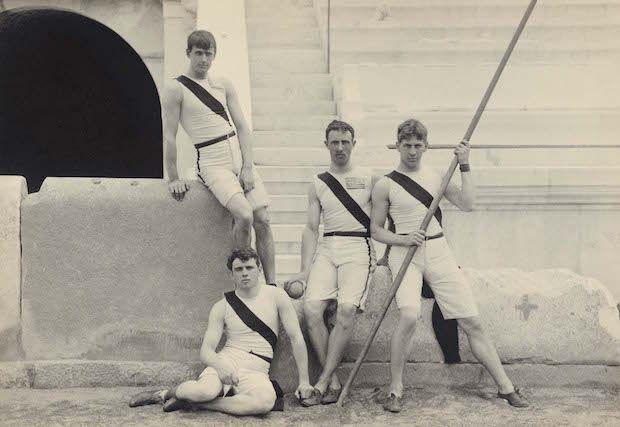 Οι φωτογραφίες των Πρώτων Σύγχρονων Ολυμπιακών Αγώνων ταξιδεύουν στην Αμερική