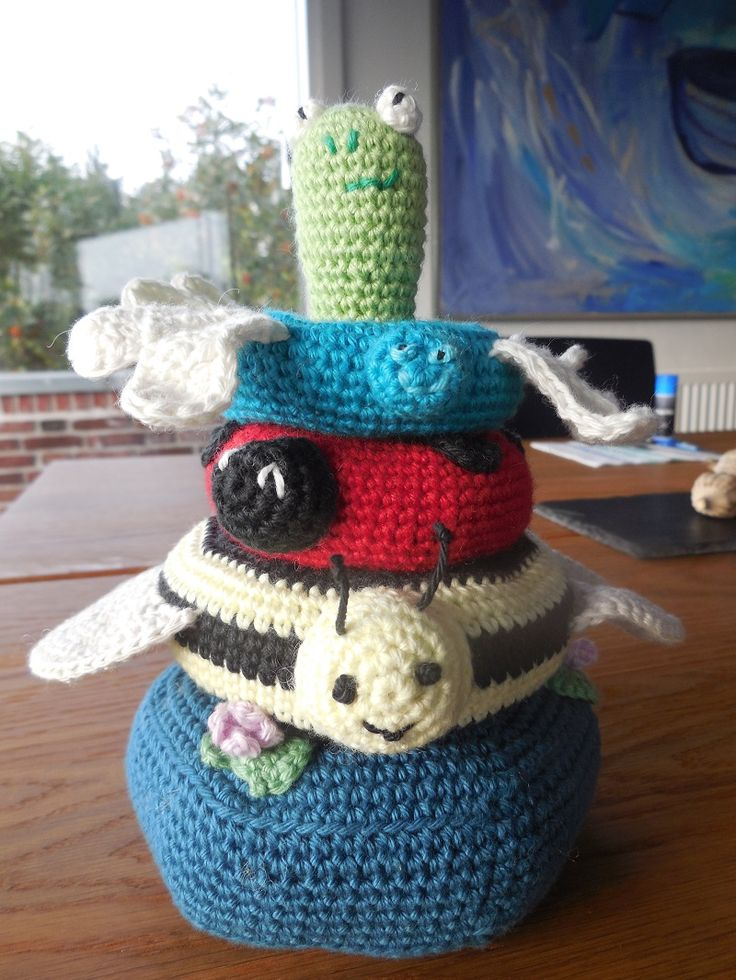 Stacking toy - 2 weeks evenings free pattern: http://www.lionbrand.com/patterns/90075AD.html?noImages=