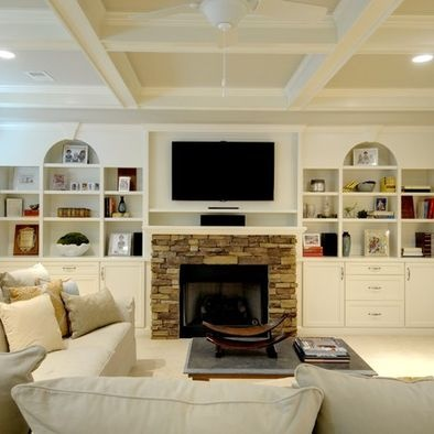traditional basement photos design ideas for long narrow